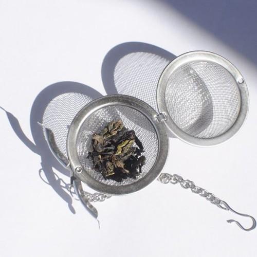 Infuzor metalic ceai tip bila / ou