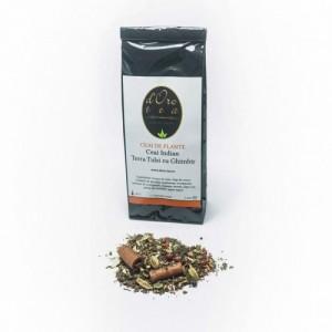 Ceaiul indian cu tulsi si ghimbir