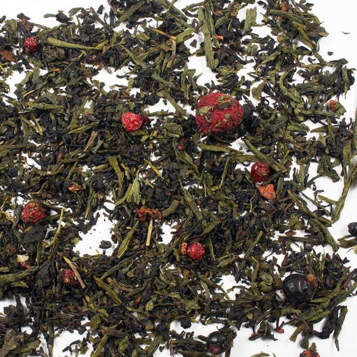 ceai oolong cu fructe de padure