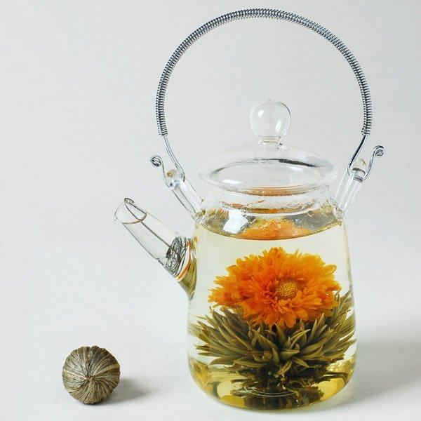 """""""Blooming tea"""" – ceaiul care înfloreşte   despre ceai"""