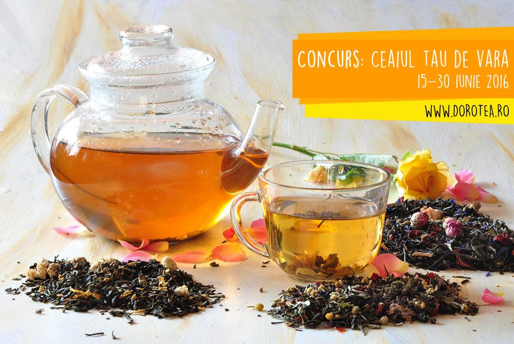 Concurs ceai rece - doro-tea.ro