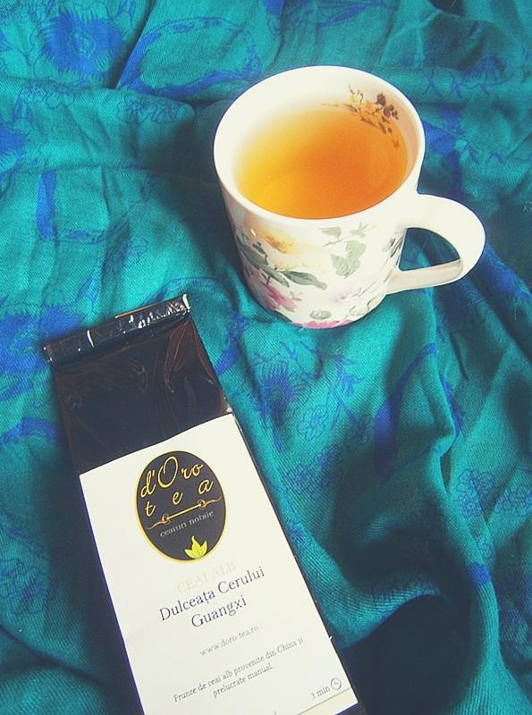 ceai dulceata cerului foto