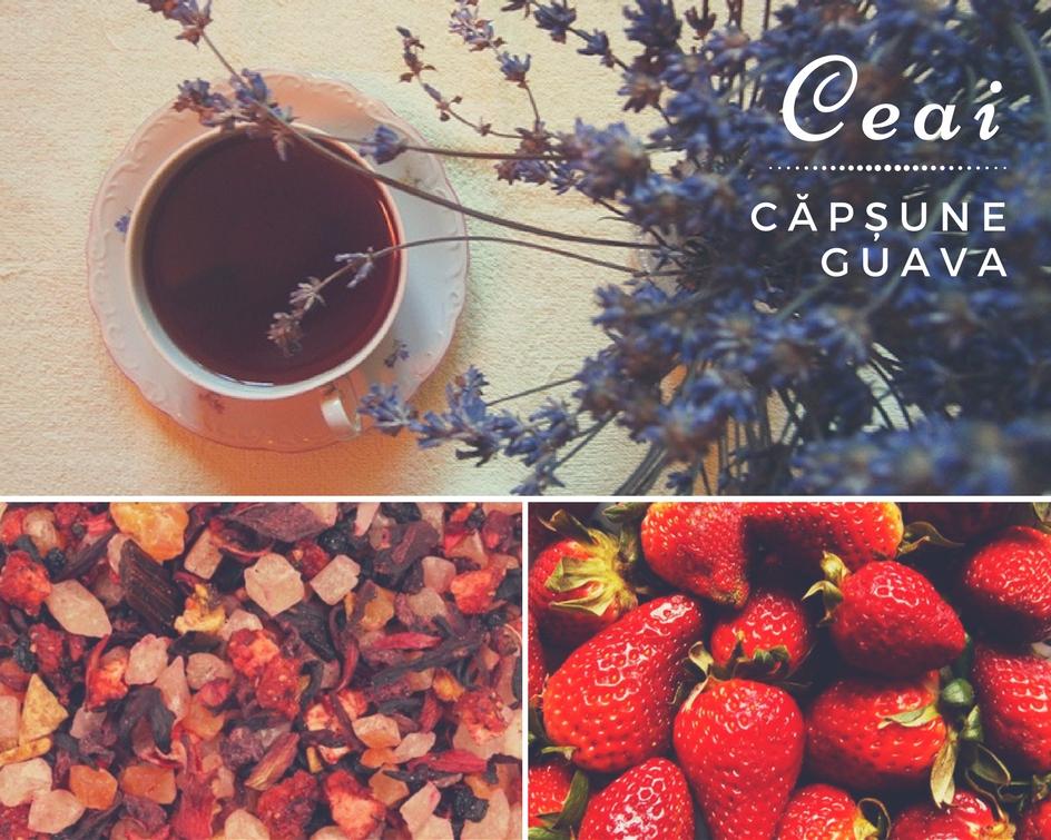 Căpșune Guava, ceaiul de fructe al unei veri parfumate   dorotearo