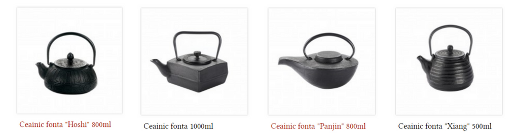 ceainice fonta