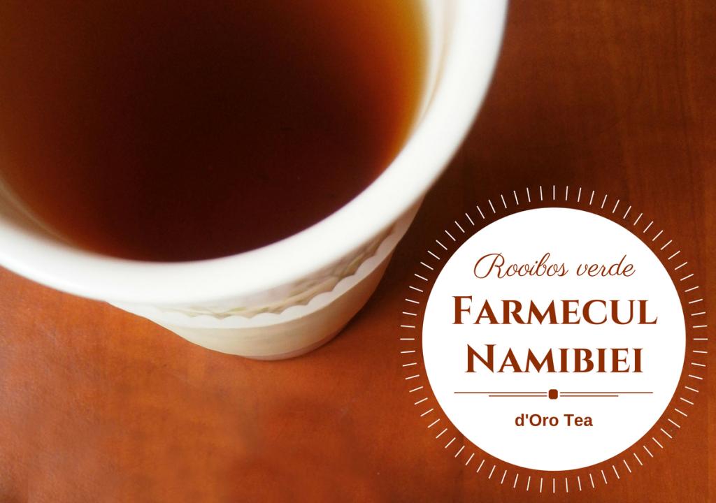 Farmecul Namibiei, un ceai ca o călătorie în Africa   despre ceai
