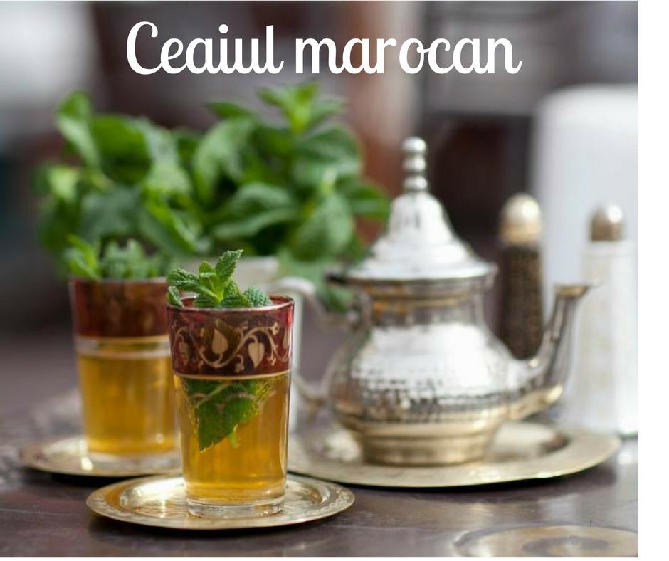 Ceaiul marocan, o tradiție dulce mentolată   despre ceai