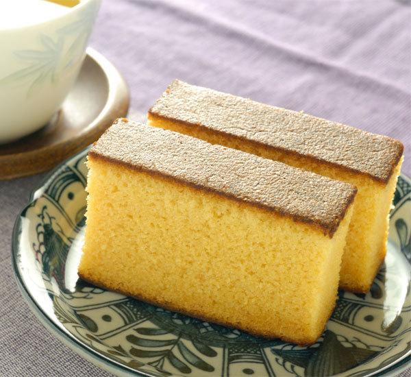 Desert japonez pentru ceai: Castella   retete ceai