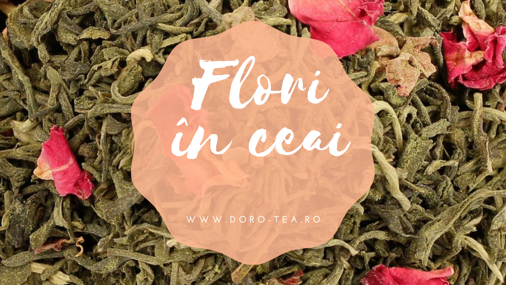 flori in ceai