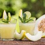Rețetă: ceai rece cu pepene galben și mentă