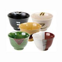 Set 5 boluri japoneze Zen
