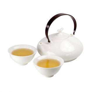 """Set de ceai """"Gheisha"""" cu ceainic și 4 pahare"""