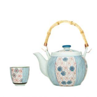 """Set ceainic + 5 pahare """"Amelie"""""""