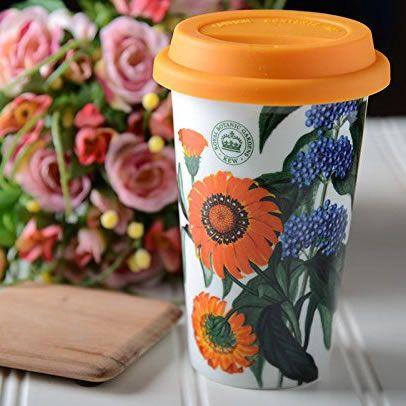 Cana cu capac de silicon - Treasure Flowers