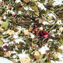 Ceai alb Zmeură cu Trandafiri