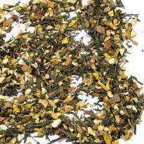 Ceai verde Sencha cu ghimbir si lamaie