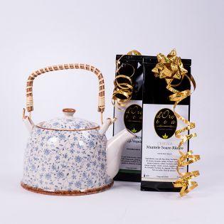 Set cadou: ceainic Aequilibrium cu doua ceaiuri