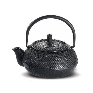"Ceainic fonta ""Nangang"" 300ml, negru cu infuzor"