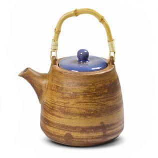 "Ceainic ""Hiko"" 500ml cu maner din bambus"