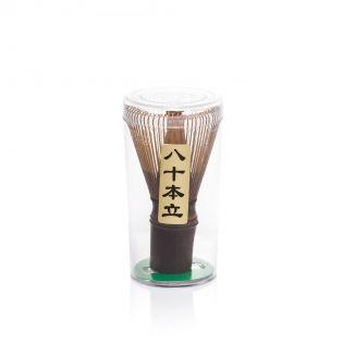 Amestecator ceai matcha - Chasen (bambus violet)