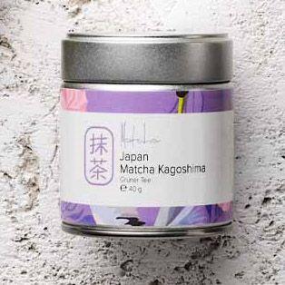 Set ceai matcha Kagoshima + amestecator Chasen