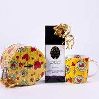 Set cadou copii: pusculita cu cana si un ceai