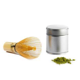 "Set ceai matcha + amestecator ""Chasen"""