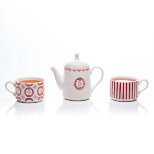 "Set Tea for Two ""Burgundia"""
